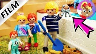 Playmobil Rodzina Wróblewskich | Tata znajduje TAJEMNICZE klucze | Czy teraz będzie królem?