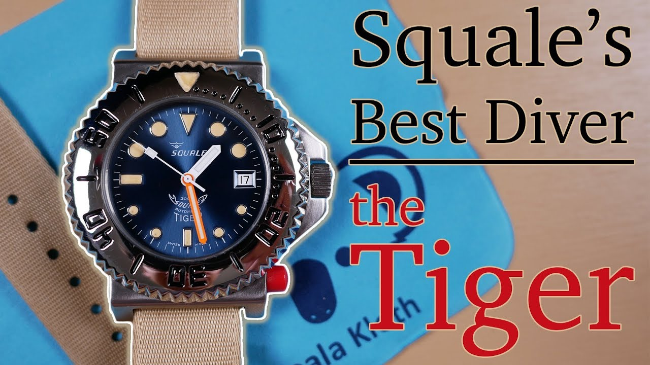 Squale Tiger Review A Better Rolex Submariner Dial Omega Ploprof Design Yes All Of The Above