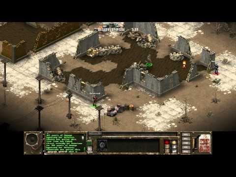 Fallout Tactics 10k Downtown Live 1vs2 - General vs Stario Frost