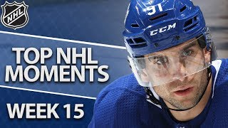 Top NHL moments of Week 15 | NBC Sports