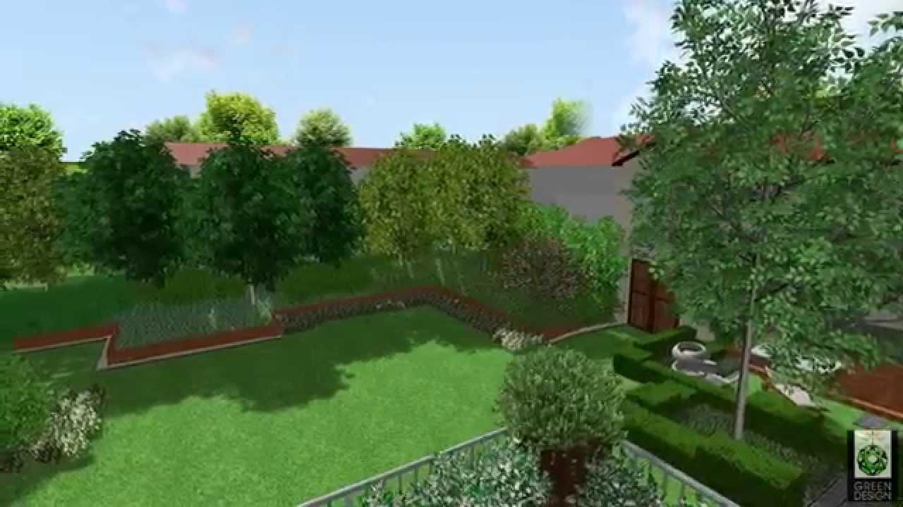 Giardino privato con solarium e vasca idromassaggio youtube for Vasca giardino