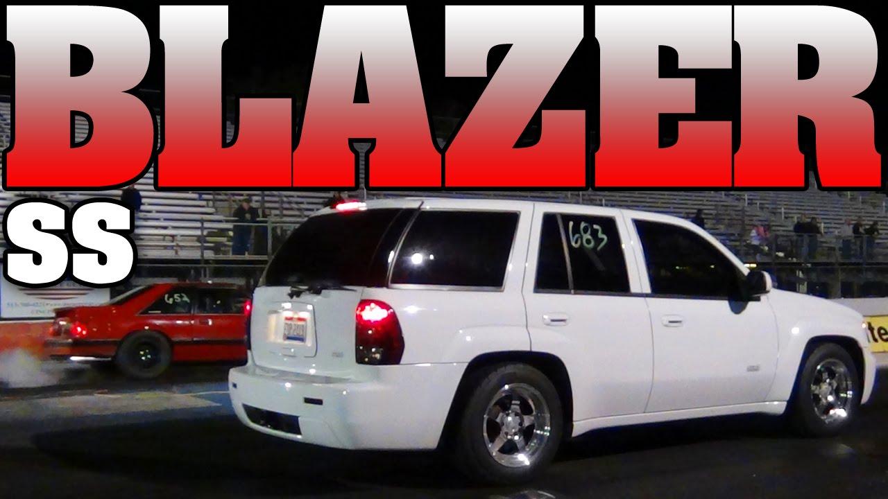 11 Second Chevy Trailblazer Ss Supercharged 6 0l Lsx Drag Racing Video 2011