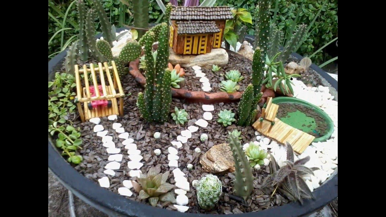 Jardins Miniatura  Youtube