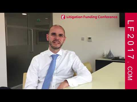 Stephen O'Dowd, Senior Director of Harbour Litigation Funding on the Oct 2, 2017 LLF2017 Trade Show
