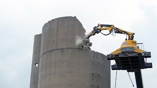 Selective Demolition 80ft Silo