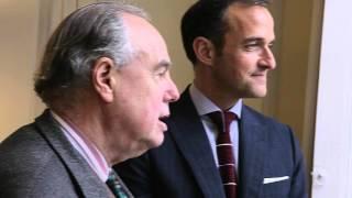 Balade dans l'archipel de Sciences Po avec Frédéric Mitterrand