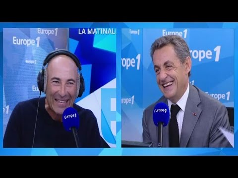 Sarkozy raconte la mèche d'Alain Juppé