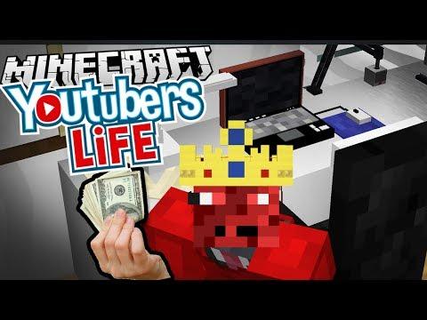 Diventerò lo YouTuber Numero uno! - YouTubers Life ricreato in Minecraft!