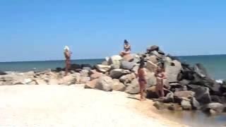 Отдых на море. Бердянск. Курортный городок. Наша поездка. Море 2016
