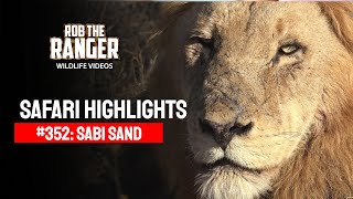 Idube Safari Highlights #352: 14 - 16 July 2015 (Latest Sightings) (4K Video)