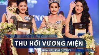 Thu hồi vương miện hoa hậu Đại Dương   VTC1