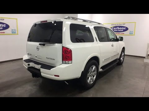 2011 Nissan Armada Oneida County, Onondaga County, Herikimer, Madison County, Otsego County, NY 6170