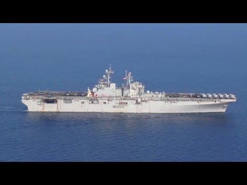 USS Iwo Jima Sailing the Gulf of Aden