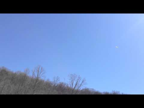 Flite Test Mini Scout on a windy day