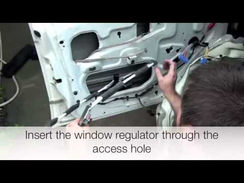 Dorman Installation Of Window Regulator For Jeep Cherokee 1997 2001