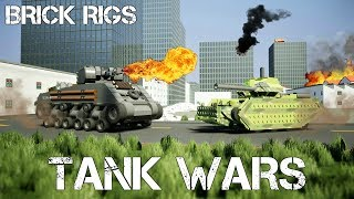 TANK WAR, DOG FIGHT AND MORE! - Brick Rigs Multiplayer Challenge - EP 18