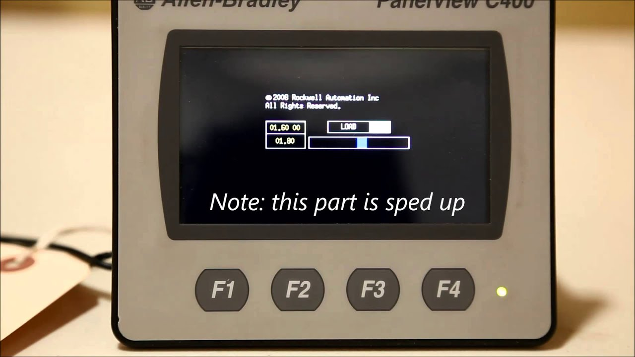 update the firmware for a panelview c400 hmi youtube rh youtube com PanelView 600 User Manual Allen Bradley PanelView 1000