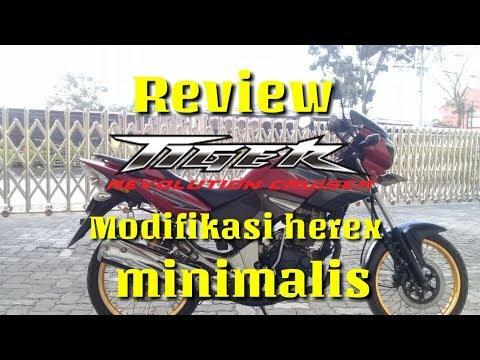 Honda Tiger Revo Modif Minimalis