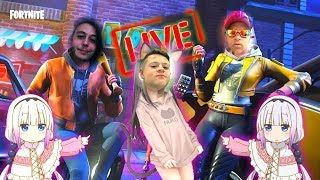 Fortnite-Passing shame live ft. V12TiN and KZN alias Loli