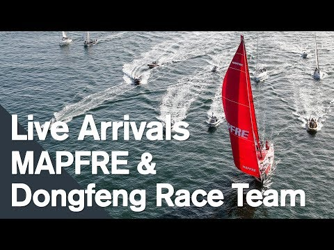 MAPFRE and Dongfeng Racing complete podium in Leg 1 of the 2017-18 edition