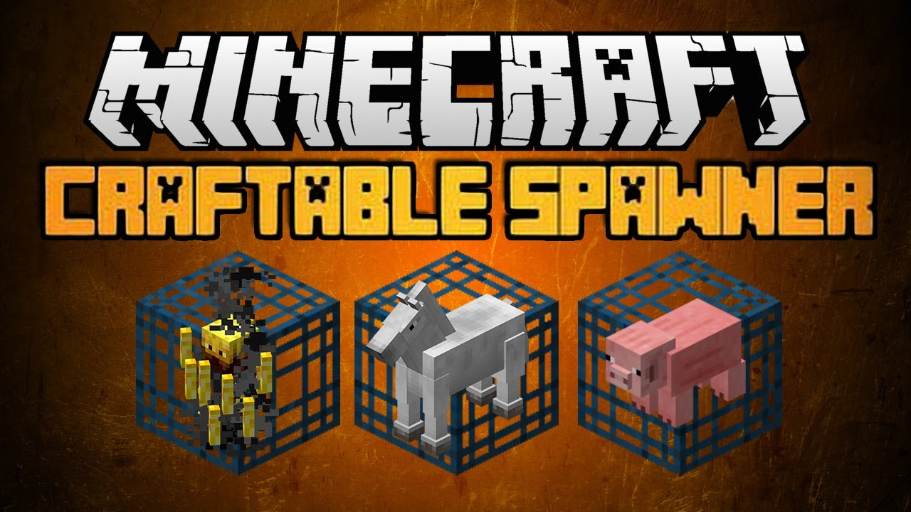 How To Craft A Monster Spawner In Minecraft