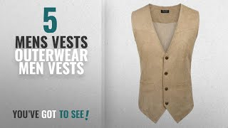 Top 10 Mens Vests Outerwear Men Vests [Winter 2018 ]: Coofandy Men