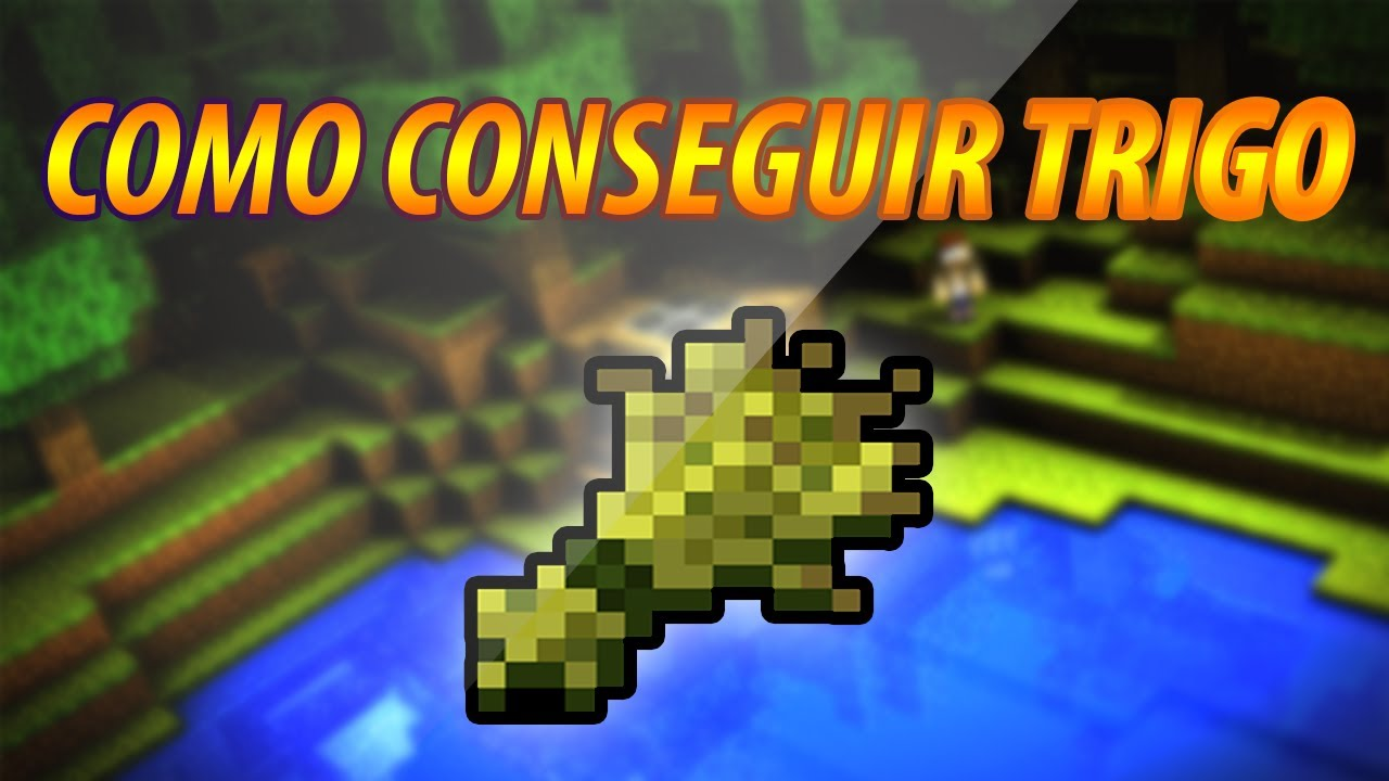 Minecraft Como Conseguir Trigo Youtube