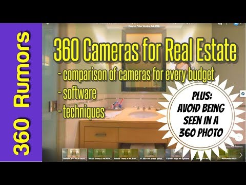 The best 360 cameras for photos of real estate and virtual tours - comparison, software, techniques