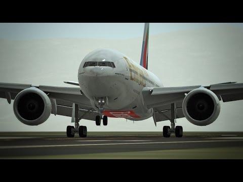 Infinite Flight B777 - 200LR NEW UPDATE Emirates livery