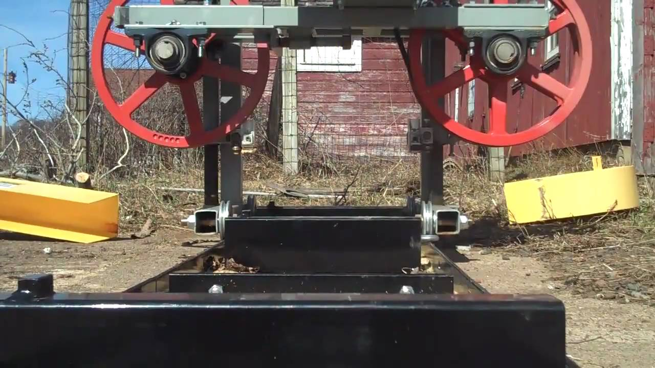 Harbor Freight Sawmill Blade : Band mill blade change doovi
