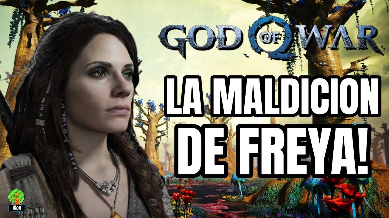 GOD OF WAR RAGNAROK - LA MALDICIÓN DE FREYA