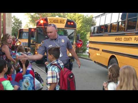 Short Pump Elementary School First Day 2017
