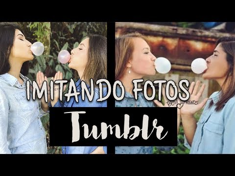 Imitando fotos tumblr