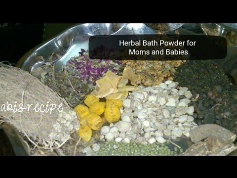 Herbal Bath Powder for Babies and Mom in Tamil/ Homemade Bath Powder