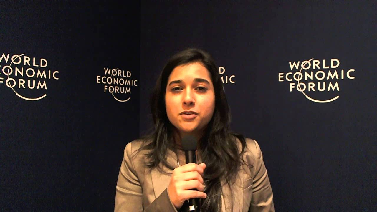 Zainab Kakal - World Economic Forum on India 2012 social media corner