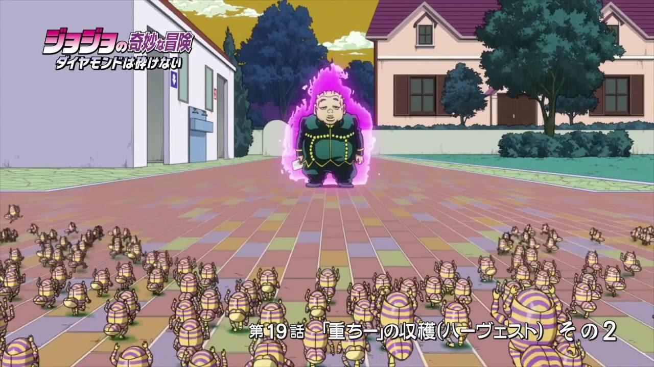JoJo's Bizarre Adventure: Diamond Is Unbreakable Episode 19 (FULL HD)  Preview