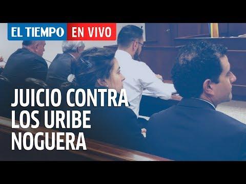 Defensa de los Uribe Noguera presenta pruebas en juicio