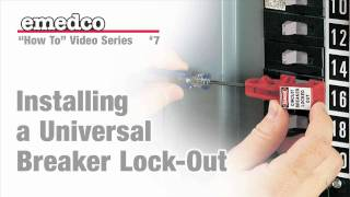 How to Install a Universal Breaker Lock Out Device | Emedco Video