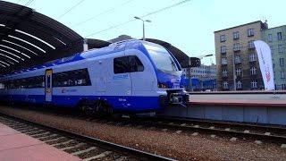 """ED160 """"Flirt 3"""" dla PKP Intercity - prezentacja w Katowicach"""