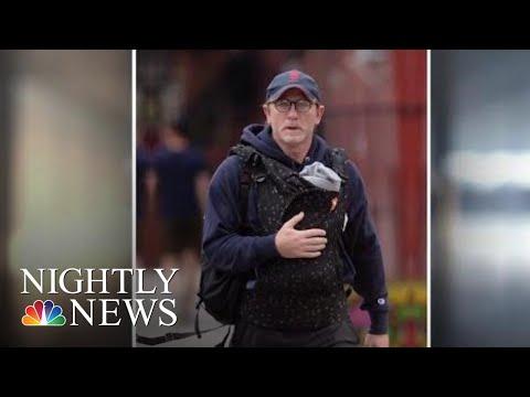 Daniel Craig Shamed On Social Media For Wearing A Baby Carrier  NBC Nightly