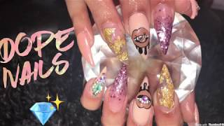 Acrylic Nails Full Set Tutorial