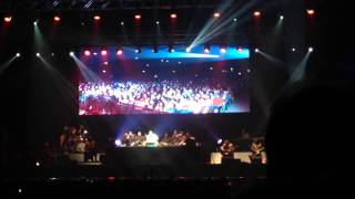 Ustad Rahat Fateh Ali Khan - Tumhain dillagi bhool - Live at Wembley SSE Arena 24th August 2014