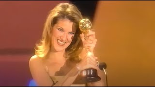 CELINE DION - Receiving a World Music Award & Call the man (Live / En