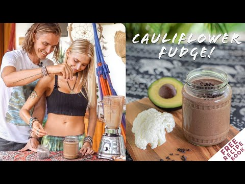 Best Healthy Smoothies | Cauliflower Fudge!! +FREE EBOOK thumbnail