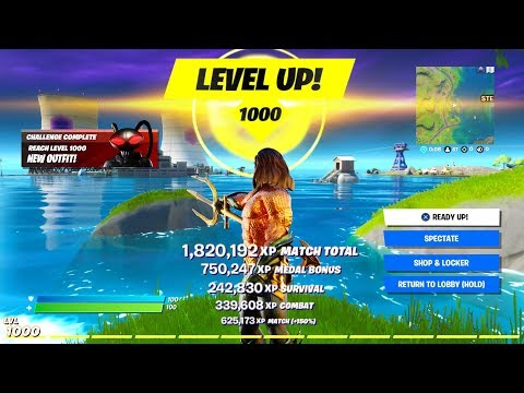 Unlock LEVEL 1000 FAST - Season 3 Guide (Fortnite XP Tips, Level Up Fast Methods, Glitches/ Rewards)