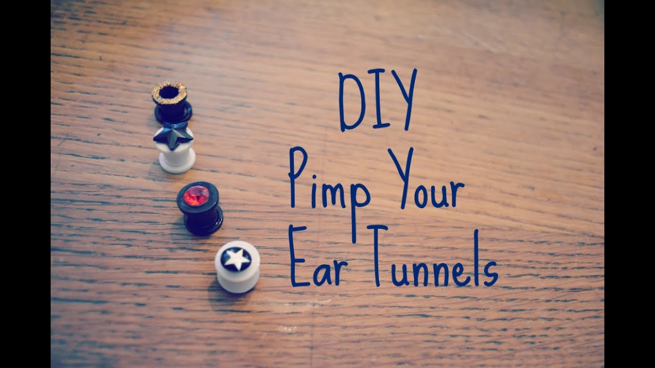 Diy pimp your ear tunnels recycle your old ear studs tutorial diy pimp your ear tunnels recycle your old ear studs tutorial youtube solutioingenieria Images