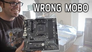 They Sent the WRONG MOTHERBOARD!