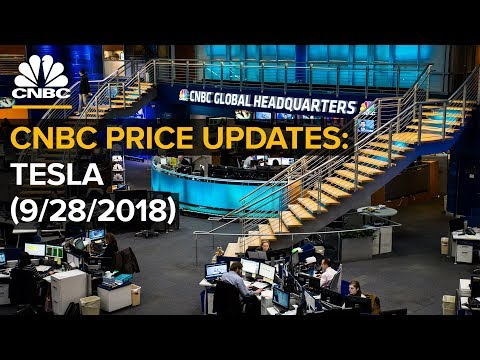 Tesla price updates: Watch the stock trade in real-time — Friday, Sept. 28 2018