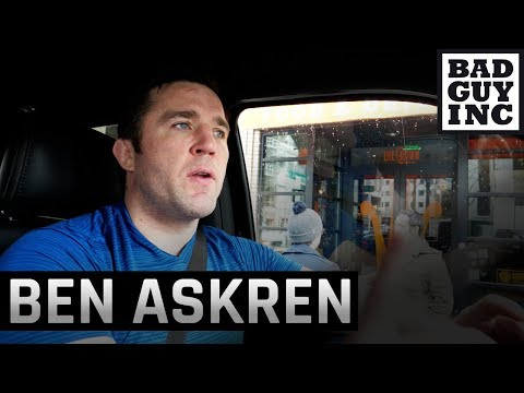 Ben Askren was the star of the UFC 235 press conference...