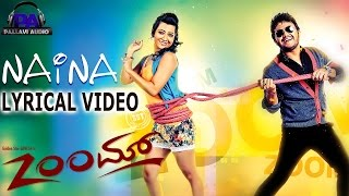 Naina Naina Song With Lyrics ||  Zoom Movie || Golden star Ganesh, Radhika Pandit